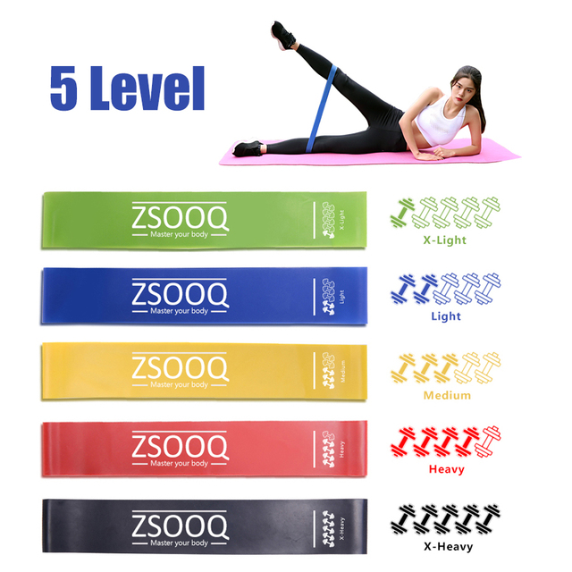 Resistance Bands expander Fitness Rubber Sport Gum loops Yoga Gym Pull Rope Training exercises Bands Workout Equipment