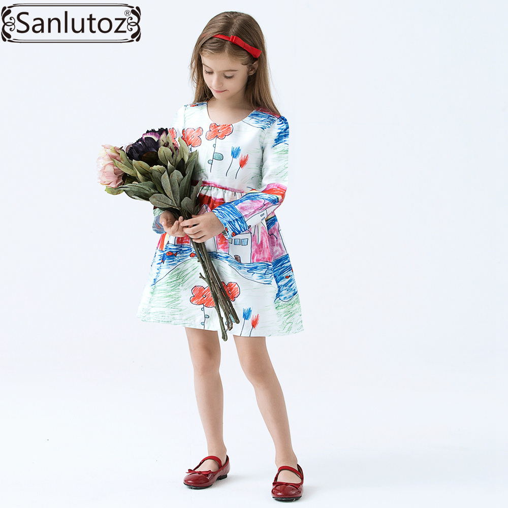 Aliexpress.com : Buy Girls Dress Winter Children Clothing Brand ...