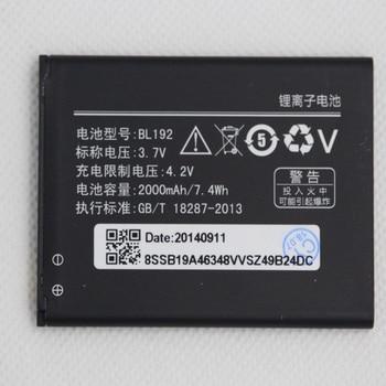 Isunoo 2000mAh Mobile Phone Battery BL192 For Lenovo A300 A328 A328T A338T A388T A526 A529 A505E A560 A590 A680 A750 battery