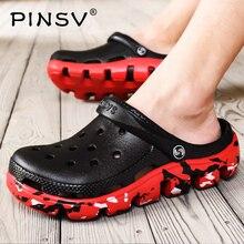 Crocse/уличные мужские сандалии; летние пляжные сандалии; Мужские сабо; обувь с кроком; Sandale Homme Sandalias Homem Erkek Sandalet; размеры 39-47