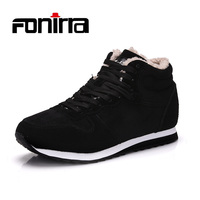 FONIRRA New Fashion Men Snow Boots Work Shoes Outdoor Lover Winter Shoes Super Warm Man Shoes