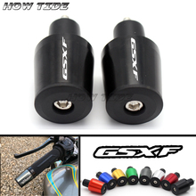 Motorcycle 7/8 22MM Handlebar Grips Handle Bar Cap End Plugs For SUZUKI GSXF