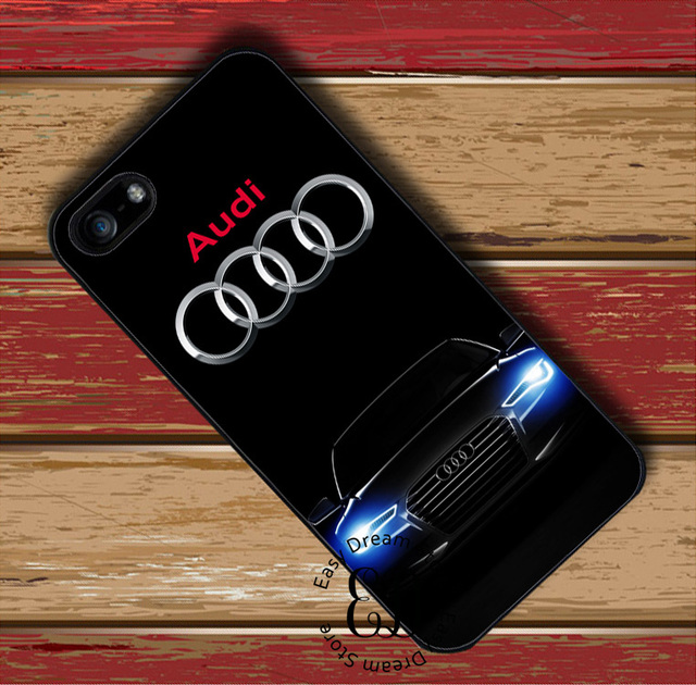 the best attitude 3ebda 381d7 US $4.99 |Audi car logo cover case for iphone X XR XS Max 4s 5 5s SE 6 6s 7  8 plus Samsung j7 s10 s6 s7 s8 s9 edge plus note 5 8 9-in Half-wrapped ...