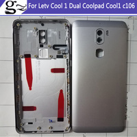Battery Door Back Cover Housing Case For Letv Cool 1 Dual Coolpad Cool1 C106 Power Volume