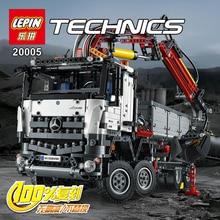 NEW LEPIN 20005 technic series 2793pcs Mercedes Benz Arocs truck Model Building font b blocks b