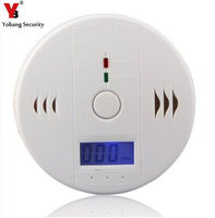 High Sensitive LCD Carbon Monoxide Detector Tester Poisoning Gas Fire Alarm Sensor For Home Security