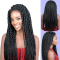 Free Shipping TOP Quality Synthetic Lace Front Wig Afro American Braided Wigs for Black Women Mambo Crochet Braid Wig