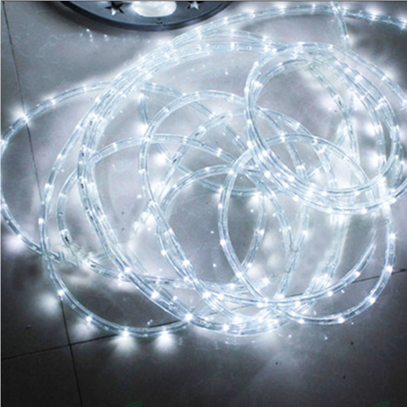 Led Strips Bright Ac220v Ip65 Waterproof Rainbow Tube Rope Led Strip Christmas Outdoor Holiday Decoration Lights 2m-20m Relieving Heat And Thirst.