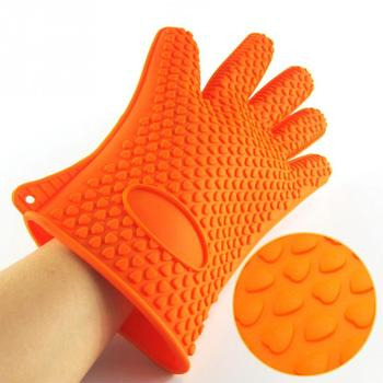 1Pcs Oven Mitt Glove With Heat Resistant For Kitchen And Baking Use