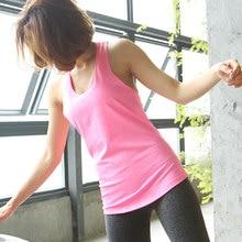 ALBREDA Women yoga sport vest Professional sleeveless Quick Drying Fitness Running Tank Top Gym Yoga shirt fitness Vest 6 colors