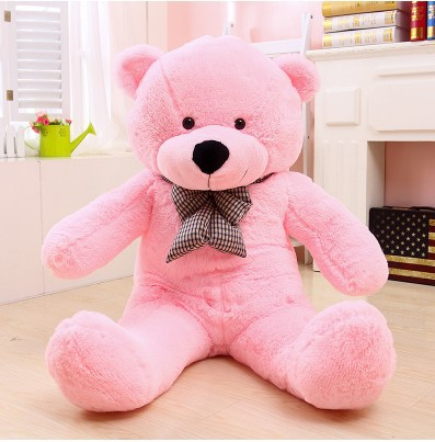 """7"""" 180 см размер Рождественский подарок Горячая Распродажа плюшевая игрушка Большая размер плюшевый мишка готовая плюшевая игрушка подарок на день рождения плюшевая игрушка - Высота: 180cm pink"""