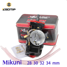 Free shipping ZSDTRP black motorcycle carburetor carburador 28mm 30mm 32mm 34mm case for mikuni fit 100cc to 250cc all motor