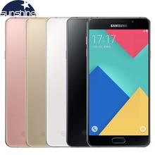 """Оригинальный Samsung Galaxy A7 A7100 4 г LTE Android телефона Octa Core 5.5 """"13.0MP 1080 P 3 г Оперативная память отпечатков пальцев dual sim мобильный телефон"""