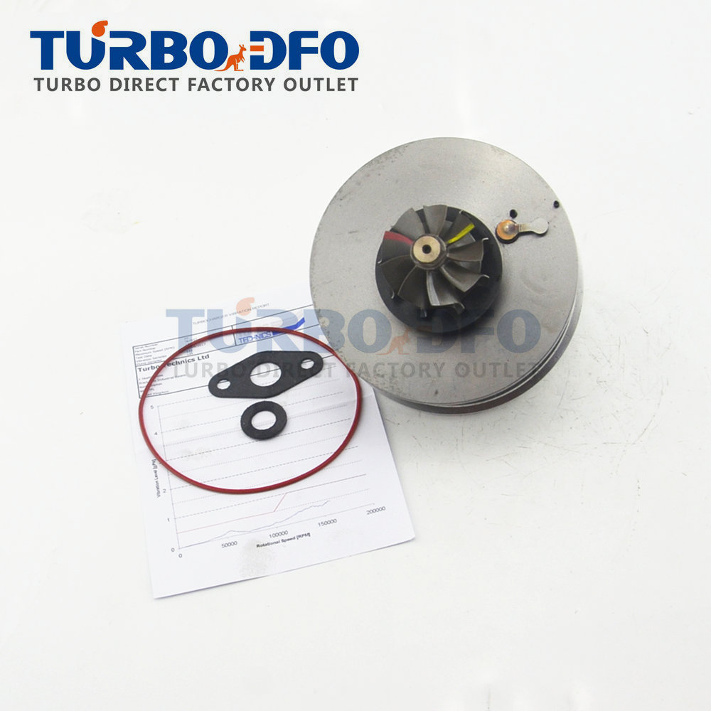 Garrett GT1749V 767835 pour Fiat Croma II/Stilo 1.9 JTD 88 Kw 120 HP Z19DT-turbo cartouche Équilibrée 755042 turbine core LCDP