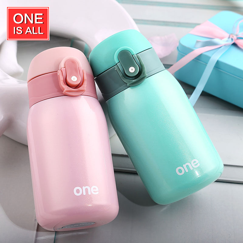 ONE IS ALL GYBL084 220ml Mini Thermos Vacuum Flask Tea Mug Water Bottle Teacup Drinking Cup