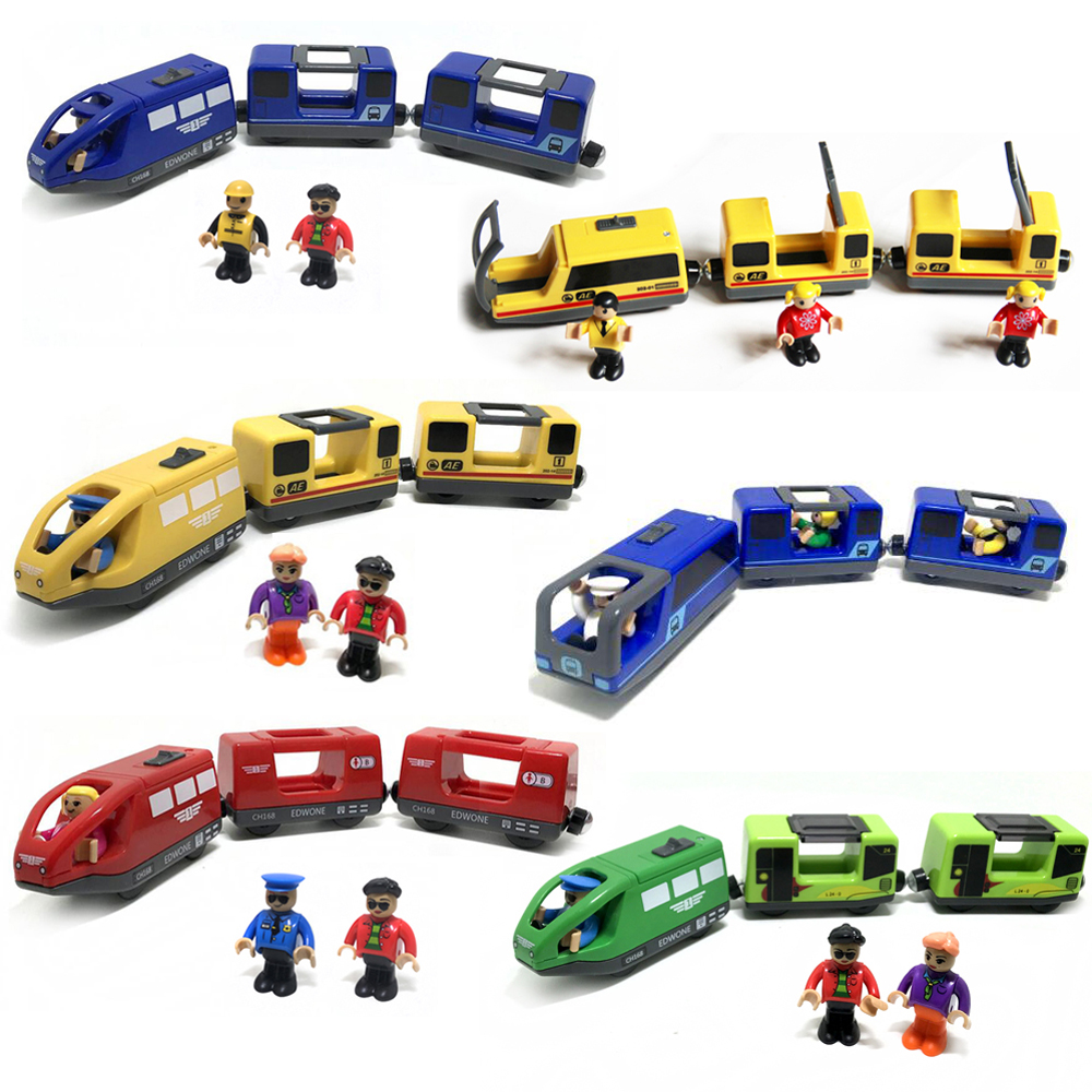 Children Electric Train Toy Train Track Magnetic Toy Train Compatible With Brio Lane Wooden Educational Track Of Children Toy
