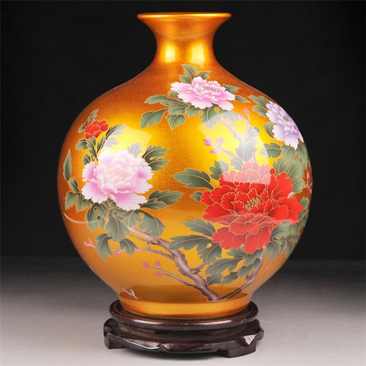 Porcelain Vase Ceramic Home Decoration Indoor Ornaments Ceramic