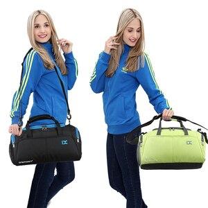 Image 5 - Training Gym Bags Fitness Travel Outdoor Sports Bag Handbags Shoulder Dry Wet shoes For Women Men Sac De Sport Duffel  XA77WA