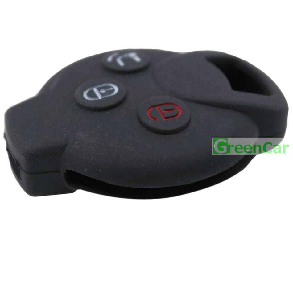 1 unids 3 Botones Car Key Case Cover para Benz Smart Car City - Accesorios de interior de coche - foto 6