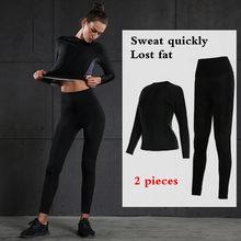 20ef343f1 Fatos de Treino das mulheres Ginásio Mulher Sportswear Conjunto Esportivo  de Corrida de Fitness Terno Senhora Roupas Apertadas R..