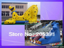 Inflatable Bouncer, CE, SGS and UL Certified, OEM Services are Welcom