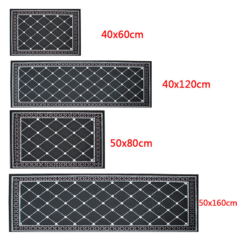 Washable Kitchen Mats with Anti Slip Bottom for Kitchen and Hallway Entrance Floor 4