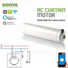 Dooya DT52S 45w Curtain Motor+Tuya app wifi Curtain Switch,Alexa/Google Home Smart Voice Control Curtain System,Home Automatic