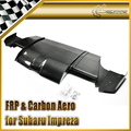 New Car Styling For Subaru Impreza 10 GR VRS 09 Style Carbon Fiber Rear Under Diffuser With Side Add On