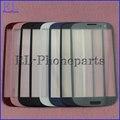 10 pçs/lote peças de reposição LCD frontal digitador Touch Screen lente de vidro exterior para Samsung Galaxy S3 I9300 i9305 I747 com logotipo
