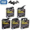 "5 pçs/lote Alta qualidade O Cavaleiro Das Trevas Batman Batmobile Tumbler Metal Collectible Modelo Toy 7 cm/2.8 ""Black carro de Brinquedo de Presente"
