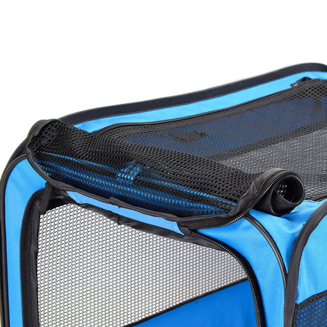 Foldable Pet Carrier Tent With Mat 5
