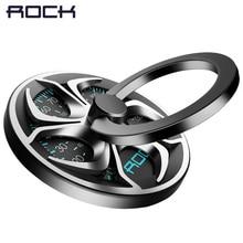 For iPhone/ Samsung/ XiaoMi Fidget Spinner Ring Holder, ROCK High Speed Hand Finger Spinner Ring Holder 360 Degree Metal Holder