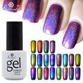 Saviland 1pcs Colorful Phantom Chameleon UV LED Gel Nail Polish Soak Off New Arrival 3D Glitter Manicure Nails