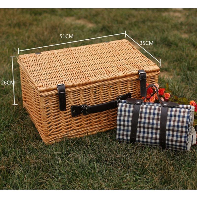 Корзины для пикника на открытом - Организация и хранения в доме - Фотография 5