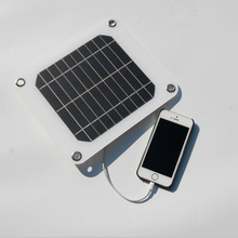 5V 5W Solar Charging Panel Battery Power Charger Board for Mobile Phone  _WK