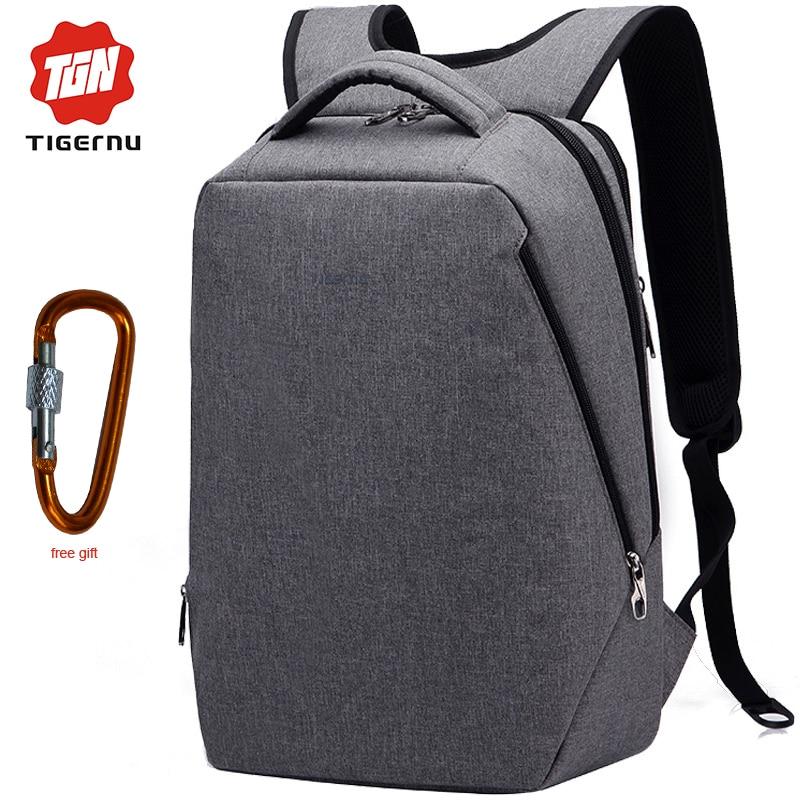 USB Charging mochila Tigernu Fashion font b Laptop b font font b Backpack b font 17