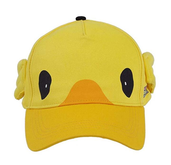 Unisex Final Fantasy 15 Noctis Cosplay Costume Moogle Chocobo Yellow Hat Lovely Halloween Cosplay Cap Costume accessories Hat image