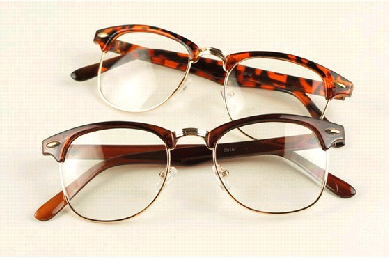 New 50\'s Classy Vintage Tortoise and Gold Square Eyeglasses Glasses ...