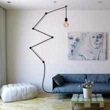 Retro Post-modern DIY Combination  Lines E27 Pendant Light For Living Room Bedroom Deco Ac 80-265v 1427