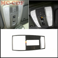 Car Interior overhead lights frame trim decoration stickers Cover For Merceders Benz C Class W204 2007 2013 Car styling