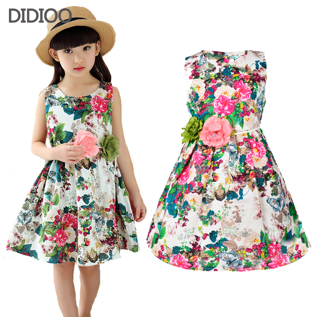 Aliexpress.com : Buy Kids clothing summer dresses for girls summer ...