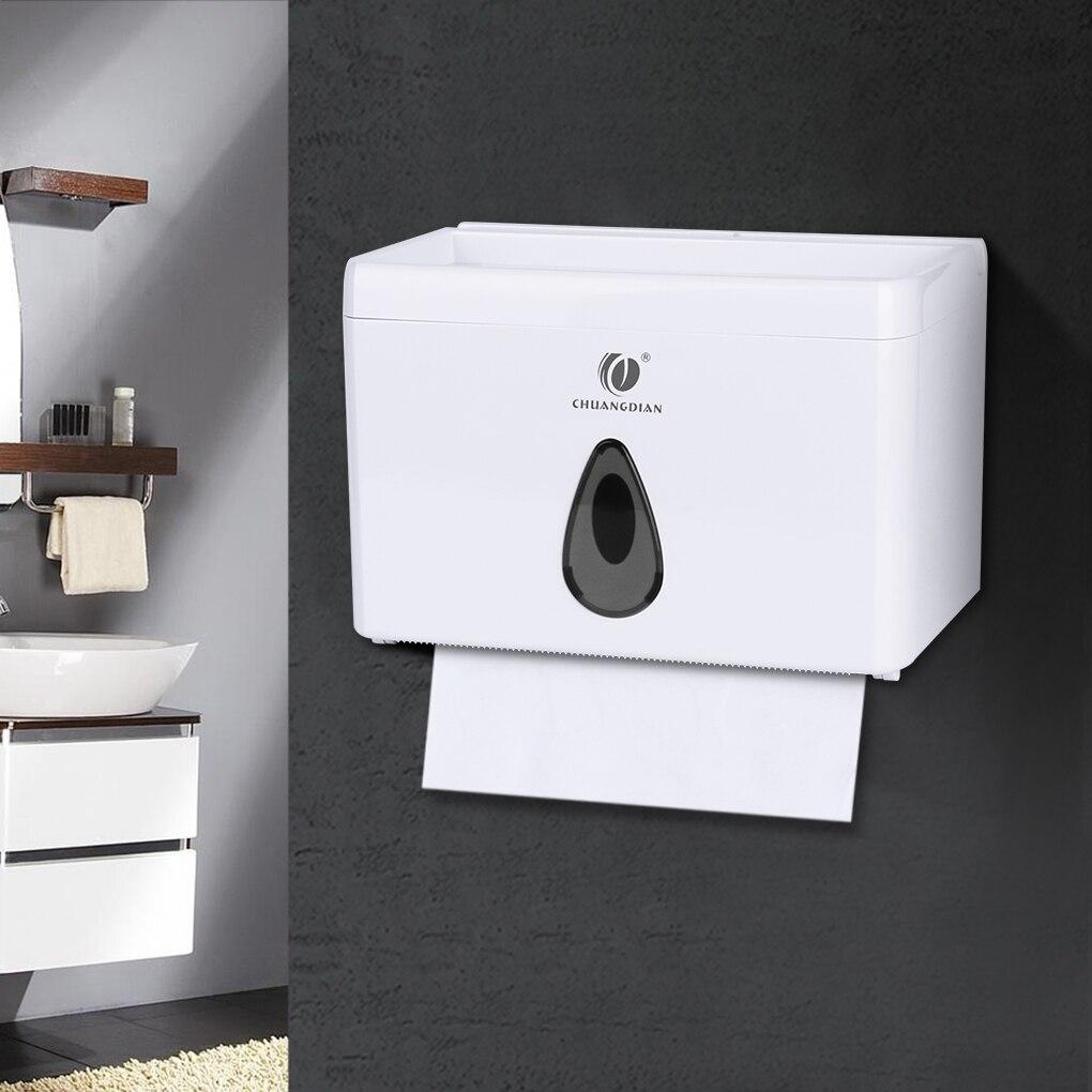 Multi-function Bathroom Toilet Paper Holder Place Mobile Phone Toilet Paper Dispenser Tissue Box цена