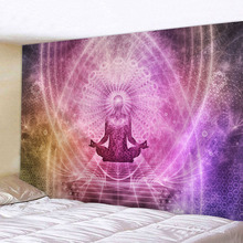 Wall Decor Tapestry Vintage Psychedelic Plant Fresh Square 2019 150x200cm Polyester New Arrival 130x150cm Home Decor Warm Colour