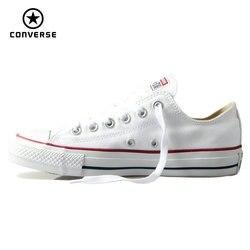 الأصلي كونفيرس الكلاسيكية كل نجم حذاء قماش الرجال والنساء أحذية رياضية منخفضة الكلاسيكية أحذية التزلج 4 اللون