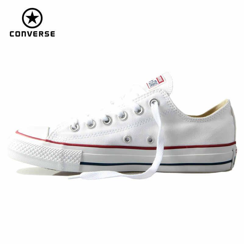 Ban Đầu Converse Cổ Điển Tất Cả Các Ngôi Sao Giày Nam Và Nữ Giày Thấp Cổ Điển Trượt Ván Giày 4 Màu