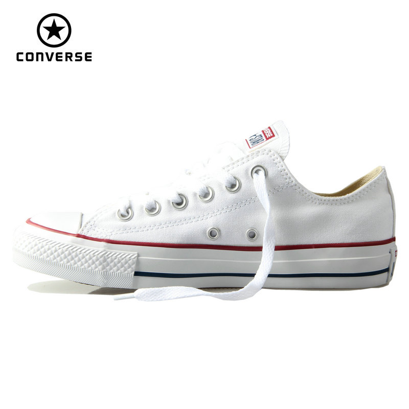 Original Converse classic all star canvas shoes men and women sneakers low classic Skateboarding Shoes 4 color original converse all star women sneakers flower color light popular summer canvas skateboarding shoes 552923c