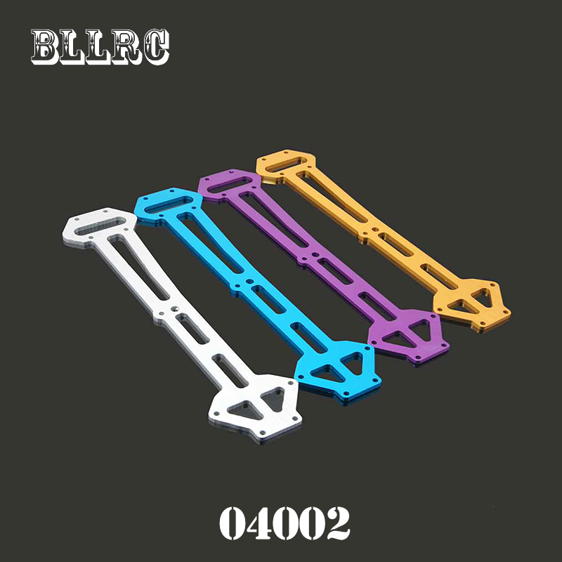 RC car 1/10 HSP 04002 Aluminum Metal Radio Tray Blue & Purple For 4WD Model Car Buggy Monster Bigfoot Truck 94111 94107 94118 цены онлайн