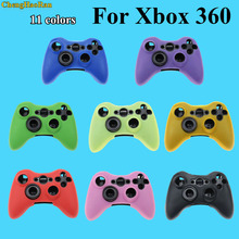 Mix 11 color Silicone Case Cover For Xbox 360 Gamepad Soft Rubber Silicone Cover For Xbox360 Controller Gel Protective Case skin стоимость