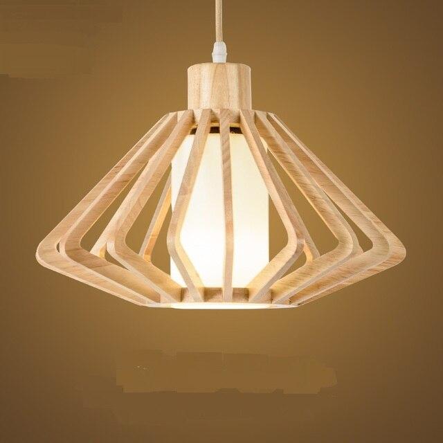 Wooden Pendant Lamps Anese Style Light Tatami Restaurant Balcony