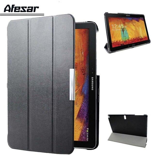 Para Samsung Galaxy Note 10,1 edición de 2014 p600 p605 p601 inteligente caso de la cubierta/Tab Pro 10,1 T520 T521 T525 funda de tableta con imán para dormir